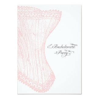 Palm Springs Bachelorette Party Invite-Custom Card