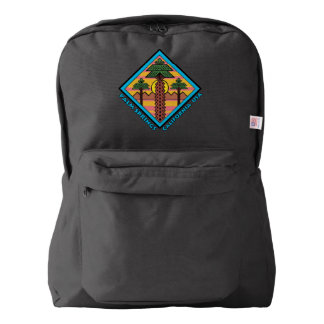 PALM SPRINGS CALIFORNIA USA original artwork Backpack