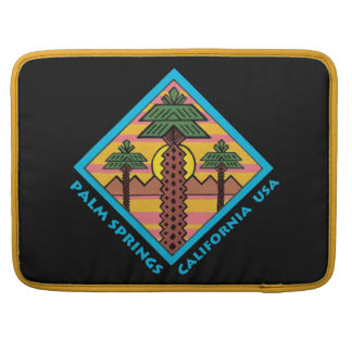 PALM SPRINGS CALIFORNIA USA original artwork Sleeve For MacBook Pro