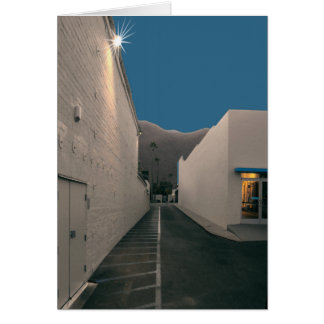 Palm Springs Design District Back Alley Nativity Greeting Card