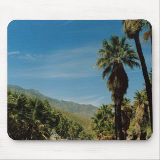 Palm Springs View Mouse Pad