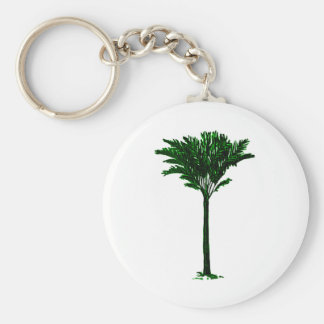 Palm Tree 2 Green The MUSEUM Zazzle Gifts Keychains