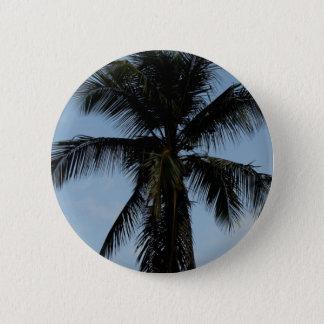 Palm Tree 2 Inch Round Button