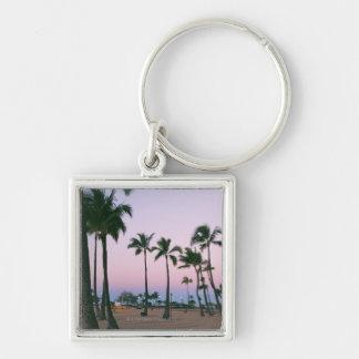 Palm Tree 2 Keychain