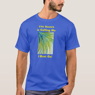 Palm Tree Abstract Watercolor T-Shirt
