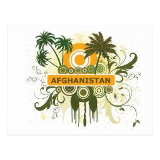 Palm Tree Afghanistan Postcard