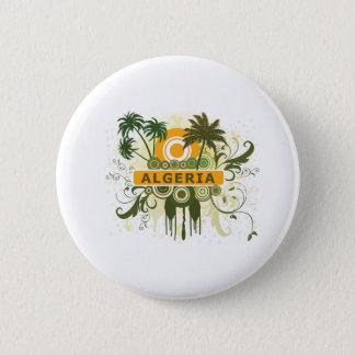 Palm Tree Algeria 2 Inch Round Button