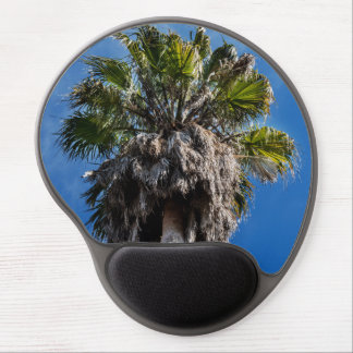 Palm tree and blue skies mouse pad