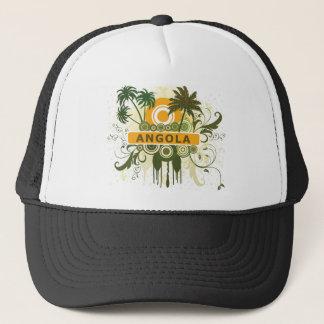 Palm Tree Angola Trucker Hat