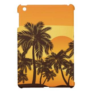Palm Tree at Sunset iPad Mini Cover