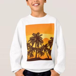 Palm Tree at Sunset Sweatshirt
