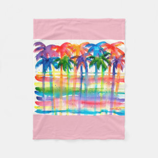 Palm Tree Blanket