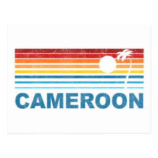 Palm Tree Cameroon Postcard
