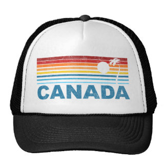 Palm Tree Canada Trucker Hat