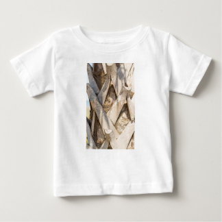 Palm Tree Close Up Detail Abstract Tight Crop Baby T-Shirt