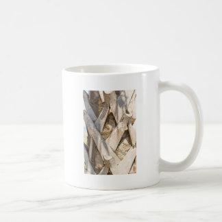 Palm Tree Close Up Detail Abstract Tight Crop Coffee Mug