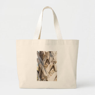 Palm Tree Close Up Detail Abstract Tight Crop Large Tote Bag