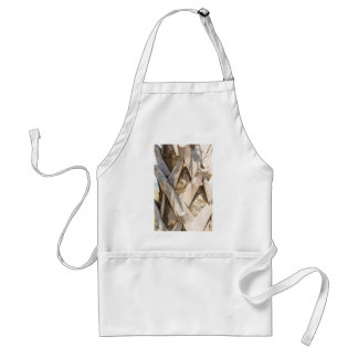 Palm Tree Close Up Detail Abstract Tight Crop Standard Apron