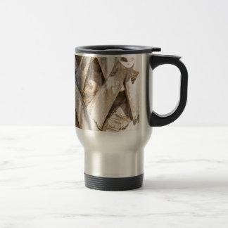 Palm Tree Close Up Detail Abstract Tight Crop Travel Mug