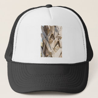 Palm Tree Close Up Detail Abstract Tight Crop Trucker Hat