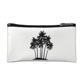 Palm tree cosmetics bag