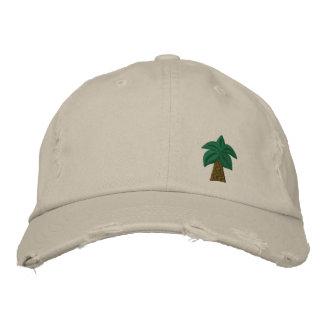Palm Tree Distressed Cap