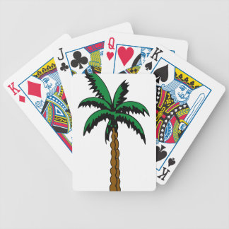Palm Tree Drawing Bicycle Playing Cards