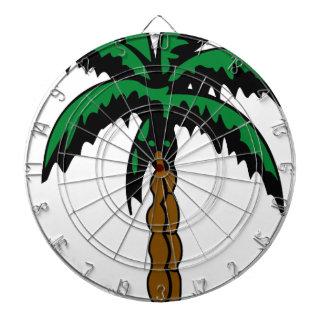 Palm Tree Drawing Dartboard