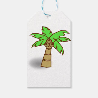 Palm Tree Drawing Gift Tags