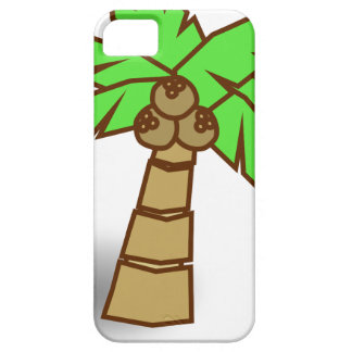 Palm Tree Drawing iPhone 5 Case