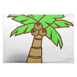 Palm Tree Drawing Placemat