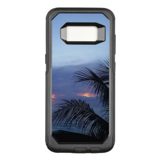 Palm Tree Dusky Blue Sunrise OtterBox Commuter Samsung Galaxy S8 Case