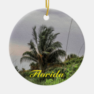 Palm Tree Florida Tree Ornament