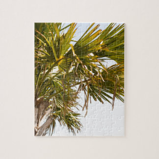 Palm Tree from the East Coast famous Myrtle Beach Jigsaw Puzzle