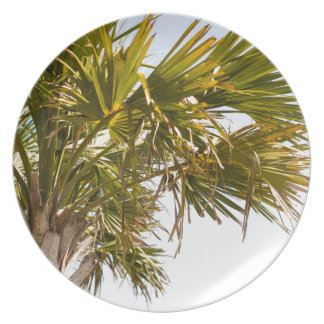 Palm Tree from the East Coast famous Myrtle Beach Plates