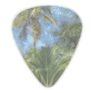 Palm Tree Guitar Picks Pearl Celluloid Guitar Pick