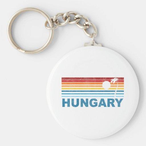 Palm Tree Hungary Key Chains