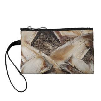 palm tree husk bark coin purse