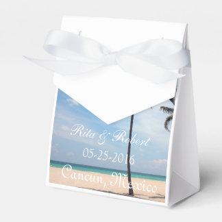 Palm Tree I Destination Wedding Favor Box