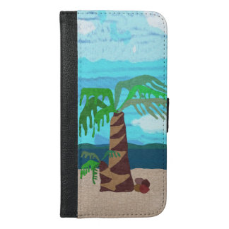 Palm Tree iPhone 6/6s Plus Wallet Case
