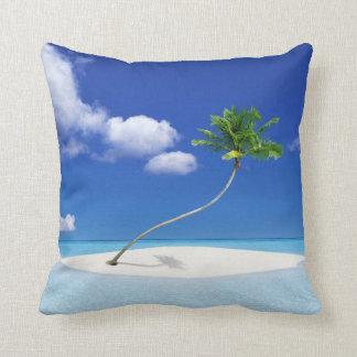 Palm Tree Island Cushion