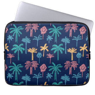 Palm Tree Leaf Pattern Neoprene Laptop Sleeve