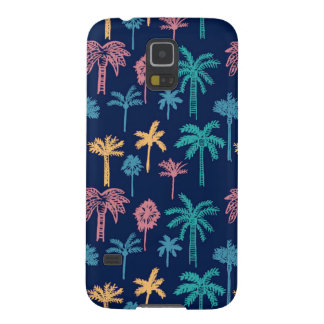 Palm Tree Leaf Pattern Samsung Galaxy S5 Case