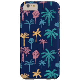 Palm Tree Leaf Pattern Tough iPhone 6 Plus Case