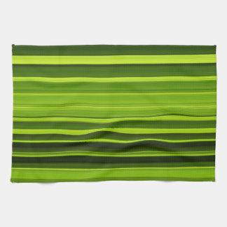 Palm Tree Leaf Texture Hand Towels