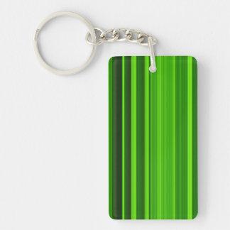Palm Tree Leaf Texture Keychain