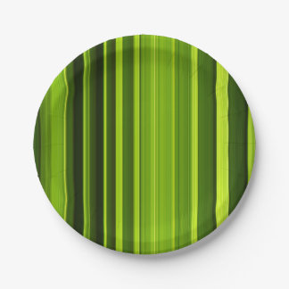 Palm Tree Leaf Texture Paper Plate