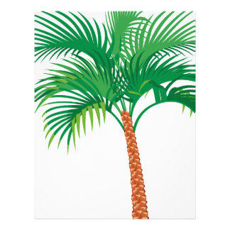 Palm Tree Letterhead