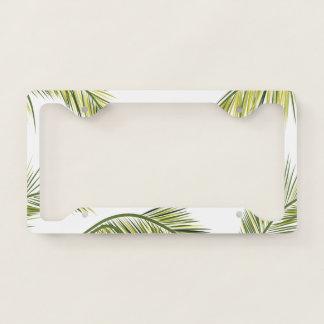 Palm Tree Licence Plate Frame