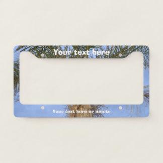 Palm Tree License Plate Frame